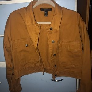 Brown/tan/mustard colored jacket